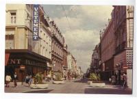 Photo de la grande rue de Roubaix dans les années 70
