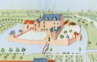 Représentation de Roubaix au Moyen-Age