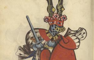 Dessin d'un chevalier