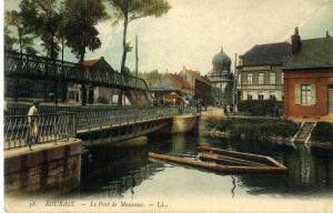 Vieille carte postale de Roubaix