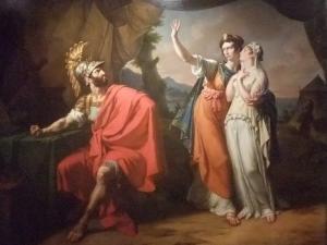 Tableau représentant Iphigénie