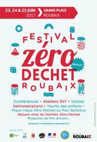 Affiche festival 0 déchet